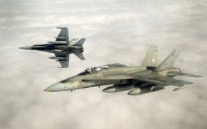 U.S. government again urges Canada to acquire American fighter jets.